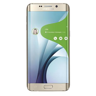 "Samsung Galaxy S6 Edge+ SM-G928F Or 32 Go Smartphone 4G-LTE Advanced - Exynos 7420 8-Core 2.1 Ghz - RAM 4 Go - Ecran tactile 5.7"" 1440 x 2560 - 32 Go - NFC/Bluetooth 4.1 - 3000 mAh - Android 5.1"
