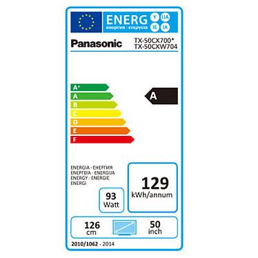 Panasonic TX-50CX700E + Panasonic DMP-BDT160EF pas cher