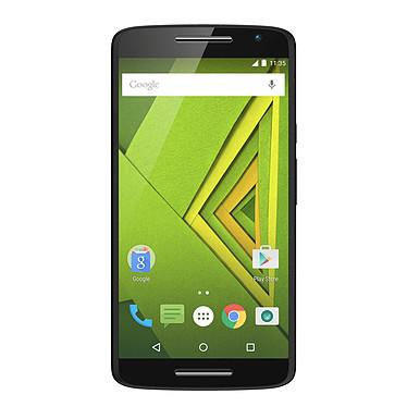 "Motorola Moto X Play Noir Smartphone 4G-LTE waterproof certifié IP52 Dual SIM avec écran tactile Full HD 5.5"" sous Android 5.1"