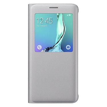 Samsung S-View Argent Samsung Galaxy S6 Edge+ Etui folio pour Samsung Galaxy S6 Edge+
