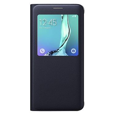 Samsung S-View Noir Galaxy S6 Edge+ Etui folio pour Samsung Galaxy S6 Edge+