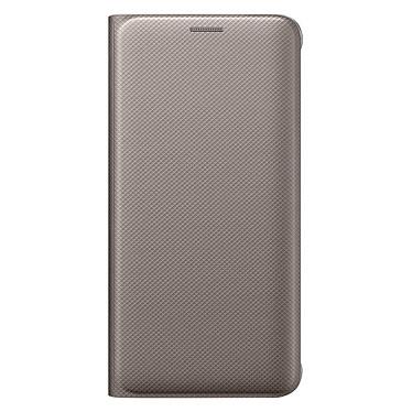 Samsung Flip Wallet Or Galaxy S6 Edge+ Etui portefeuille pour Samsung Galaxy S6 Edge+