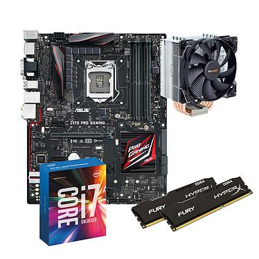Kit Upgrade PC Core i7 ASUS Z170 PRO Gaming 8 Go Carte mère ATX Socket 1151 Intel Z170 Express + CPU Intel Core i7-6700K (4.0 GHz) + RAM 8 Go DDR4 + Ventilateur de processeur