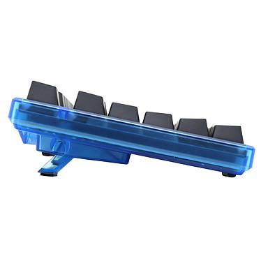 Ducky Channel One (coloris bleu transparent - switches MX Blue - LEDs bleues - touches ABS) pas cher