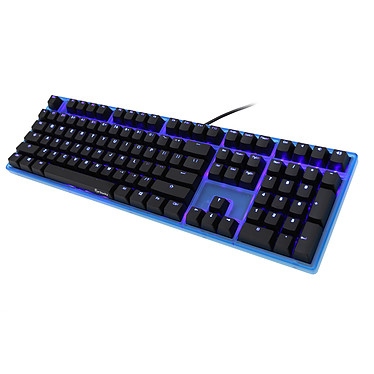 Avis Ducky Channel One (coloris bleu transparent - switches MX Blue - LEDs bleues - touches ABS)