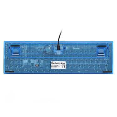Acheter Ducky Channel One (coloris bleu transparent - MX Black - LEDs bleues)