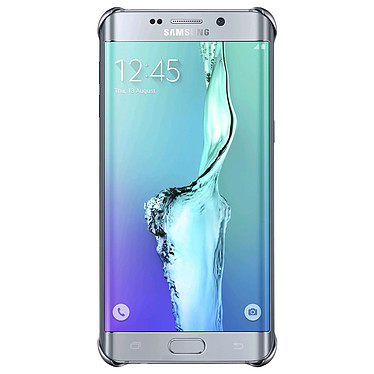 Samsung Clear Cover Argent Samsung Galaxy S6 Edge+ Coque transparente pour Samsung Galaxy S6 Edge+