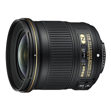 Nikon AF-S NIKKOR 24mm f/1.8G ED Objectif focale ultra-grand angle au format FX