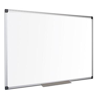 Bi-Office Tableau blanc émaillé 200 x 120 cm Tableau blanc en acier émaillé magnétique effaçable 200 x 120 cm