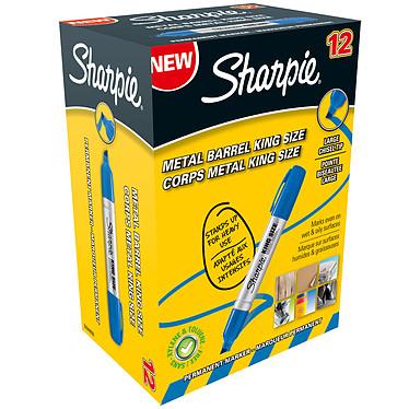 Sharpie Fine Pro Bleu x 12