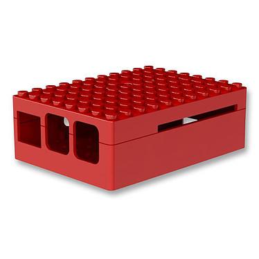 Multicomp Pi-Blox boitier pour Raspberry Pi 2 / Pi Model B+ (rouge) Boîtier en plastique pour carte Raspberry Pi (2ème génération)