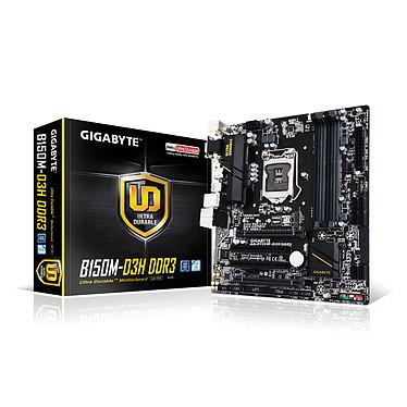 Gigabyte GA-B150M-D3H DDR3 Carte mère Micro ATX Socket 1151 Intel B150 Express - SATA 6Gb/s + M.2 + SATA Express - DDR3 - USB 3.0 - 2x PCI-Express 3.0 16x