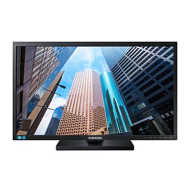 """Samsung 23.6"""" LED - S24E650PLC 1920 x 1080 pixels - 4 ms - Format large 16/9 - Pivot - Dalle PLS - DisplayPort - HDMI - Noir + Câble DP inclus (garantie 3 ans constructeur)"""