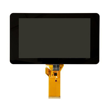 Raspberry Pi Display 7'' Écran tactile capacitif 10 doigts - diagonale 7'' - résolution maximale 800 x 480 pixels - compatible Raspberry Pi (toutes versions)
