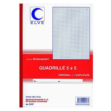 Elve Cuaderno Manifold 50 hojas con duplicado 29,7 x 21 cm