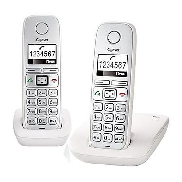Gigaset E310 Duo Comfort - Blanc