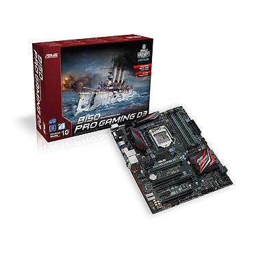 ASUS B150 PRO GAMING D3 Carte mère ATX Socket 1151 Intel B150 Express - SATA 6Gb/s - DDR3 - USB 3.1 - 2x PCI-Express 3.0 16x