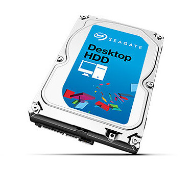 "Seagate Desktop HDD 5 To Disque dur 3.5"" 5 To 7200 RPM 128 Mo Serial ATA 6 Gb/s (bulk)"