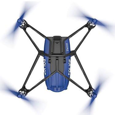 Avis Parrot MiniDrone Airborne Night McClane