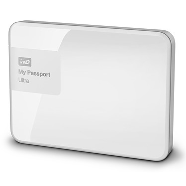 WD My Passport Ultra 1 To Blanc (USB 3.0) pas cher