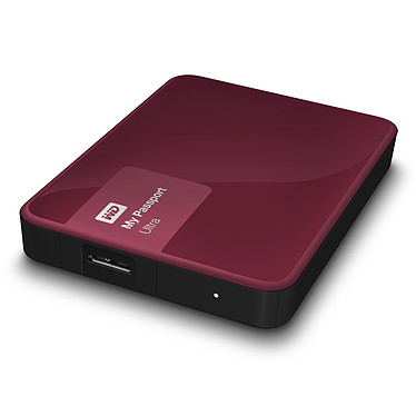 "WD My Passport Ultra 2 To Berry (USB 3.0) Disque dur externe 2.5"" sur port USB 3.0 / USB 2.0"