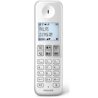 Avis Philips D2302W/FR Duo Blanc