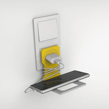 Durable Varicolor Phone Holder Jaune