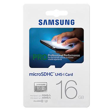 Samsung Pro U3 microSDHC 16 Go pas cher