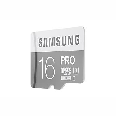 Avis Samsung Pro U3 microSDHC 16 Go