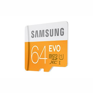 Avis Samsung EVO microSDXC 64 Go + adaptateur USB
