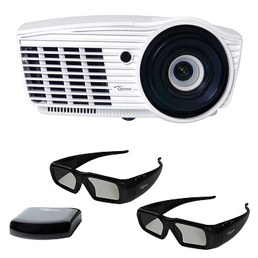 Optoma HD50 + Starter Kit ZF2300 + Lunettes 3D