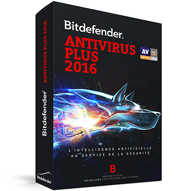 Bitdefender Antivirus Plus 2016 - 1 An 1 Poste Antivirus - Licence 1 an 1 poste (français, WINDOWS)