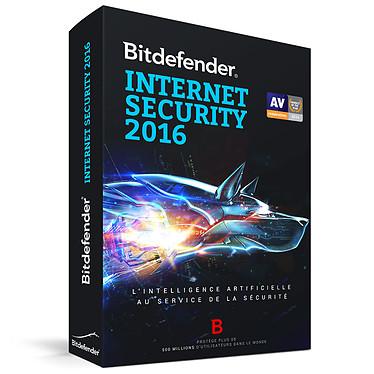 Bitdefender Internet Security 2016 - Licence 2 Ans 3 Postes