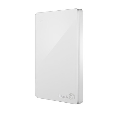 Seagate Backup Plus Slim 1 To Blanc (USB 3.0) + Recovery