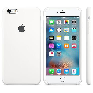 Apple Coque en silicone Blanc Apple iPhone 6s Plus Coque en silicone pour Apple iPhone 6s Plus