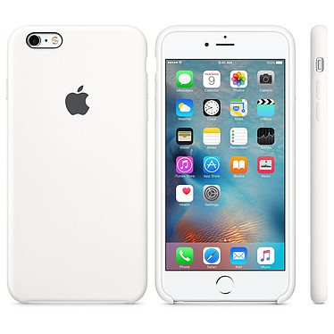 Apple Coque en silicone Blanc Apple iPhone 6s Coque en silicone pour Apple iPhone 6s