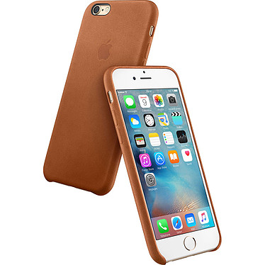 Apple Coque en cuir Havane Apple iPhone 6s Plus Coque en cuir pour Apple iPhone 6s Plus
