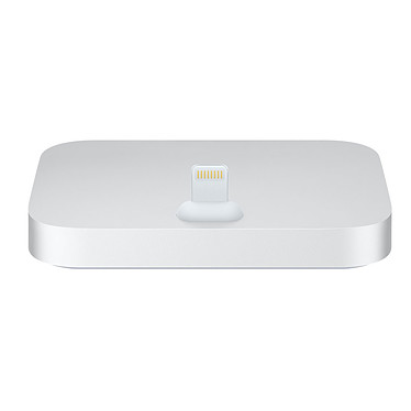Apple Lightning Dock Plata Estación de carga / sincronización para iPhone 5 / 5c / 5s / SE / 6 / 6 / 6 / 6 Plus / 6s / 6s Plus / 7 / 7 Plus y iPod Touch 5ª y 6ª generación