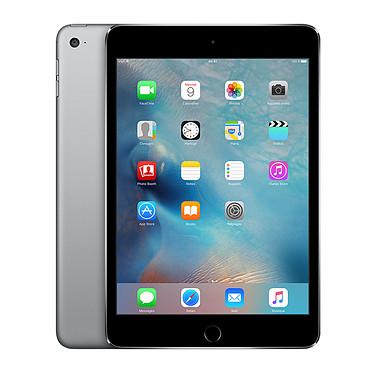 "Apple iPad mini 4 avec écran Retina Wi-Fi + Cellular 16 Go Gris sidéral Tablette Internet 4G-LTE - Apple A8 1.5 GHz 1 Go 16 Go 7.9"" LED tactile Wi-Fi ac / Bluetooth Webcam iOS 9"