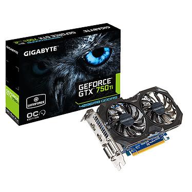 Gigabyte GV-N75TWF2OC-4GI - GeForce GTX 750 Ti 4 Go
