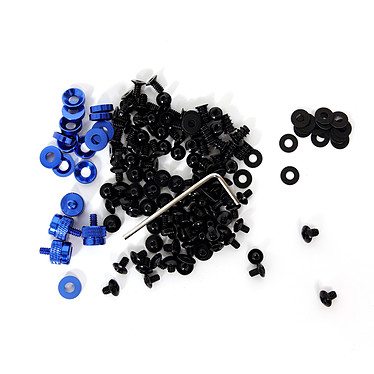 LDLC MOD-1 - Vis pour PC - Bleu/Noir Kit d'outillage visserie pour Boîtier PC