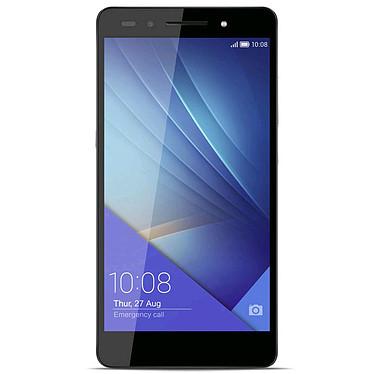 "Honor 7 16 Go Gris Smartphone 4G-LTE Advanced Dual SIM - Kirin 935 8-Core 2.2 Ghz - RAM 3 Go - Ecran tactile 5.2"" 1080 x 1920 - 16 Go - Bluetooth 4.1 - 3100 mAh - Android 5.0"