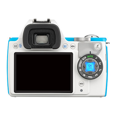 Acheter Pentax K-S1 Blanc turquoise + Objectif DAL 18-55 mm