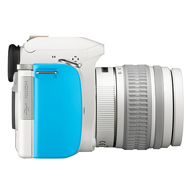 Avis Pentax K-S1 Blanc turquoise + Objectif DAL 18-55 mm