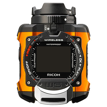 Acheter Ricoh WG-M1 Orange + micro SDHC 16 Go