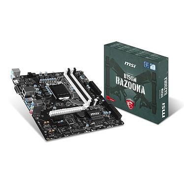 MSI B150M BAZOOKA Carte mère Micro ATX Socket 1151 Intel B150 Express - SATA 6Gb/s + SATA Express - USB 3.1 - 1x PCI-Express 3.0 16x