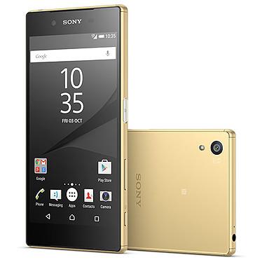 "Sony Xperia Z5 Or Smartphone 4G-LTE Advanced certifié IP68 avec écran tactile Full HD TRILUMINOS 5.2"" sous Android 5.1"