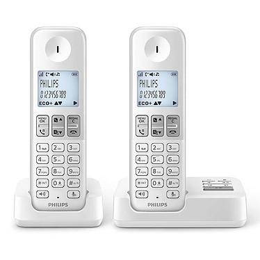 Philips D2352W/FR Blanc