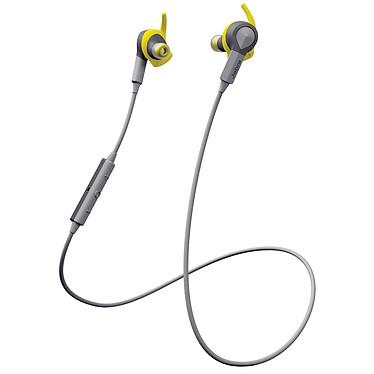 Jabra Sport Coach Wireless Jaune Écouteurs intra-auriculaires sans fil certifié IP55, Bluetooth et NFC avec son Dolby