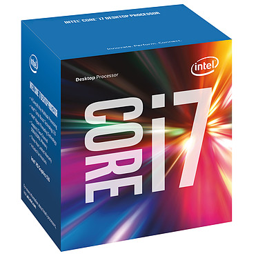 Intel Core i7-6700 (3.4 GHz) Processeur Quad Core Socket 1151 Cache L3 8 Mo Intel HD Graphics 530 0.014 micron (version boîte - garantie Intel 3 ans)
